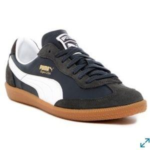 Puma Super Liga Retro Sneakers Size 11 navy/white